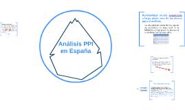 Análisis PPI España