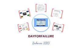 Dayforfailure Baleares