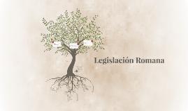 Legislación Romana