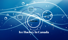 Ice Hockey In Canada