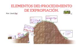 ELEMENTOS DEL PROCEDIMIENTO DE EXPROPIACIÓN.