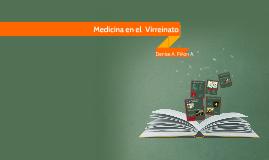 Medicina en el  Virreinato