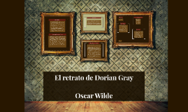 Copy of El retrato de Dorian Gray