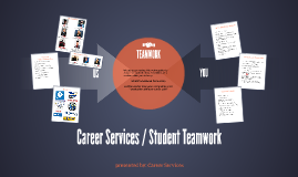 Career Services / Student Teamwork