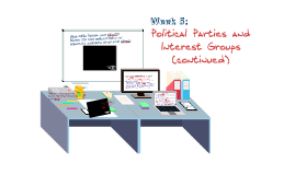 Week 5: Political Parties and Interest Groups (cont)