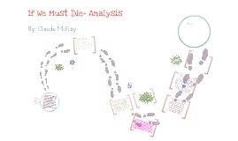 Analysis of If We Must Die- by: Cynthia Giles