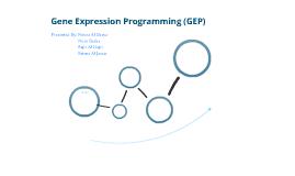 Gene Expression Programming (GEP)