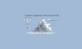 Capstone Assignment: Journey to the Top