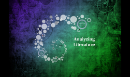 Why Analyze Literature?