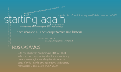 starting again