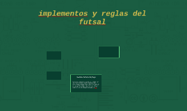implementos del futsal