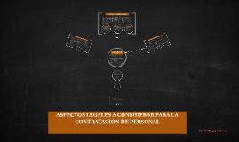 Copy of ASPECTOS LEGALES A CONSIDERAR PARA LA CONTRATACIÓN DE PERSON