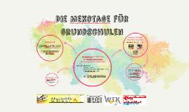 Copy of Die Mekotage für Grundschulen