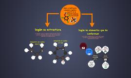 ¿Como se clasifican los compuestos orgánicos?