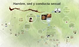 Hambre, sed y conducta sexual