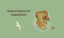 Generos literarios del vanguardismo