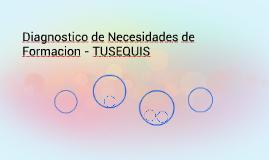 Diagnostico de Necesidades de Formacion - TUSEQUIS