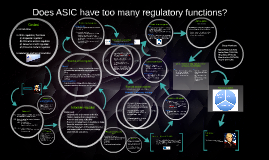 Copy of ASIC regulatory functions