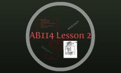 AB114 Lesson 2