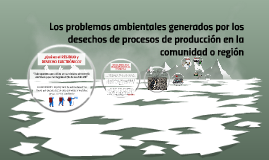 Los problemas ambientales generados por los desechos de proc