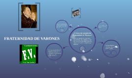 FRATERNIDAD DE VARONES