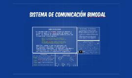Copy of SISTEMA DE COMUNICACIÓN BIMODAL