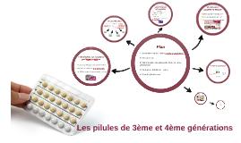 Les pilules de 3ème et 4ème génération