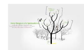 Lo spiritualismo di Henri Bergson
