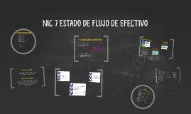 Copy of NIC 7 ESTADO DE FLUJO DE EFECTIVO