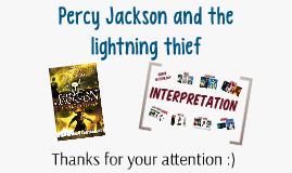 Percy Jackson and the Lightning Thief - Bookpresentation