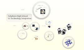 Asheboro High School 1:1 Technology Transformation