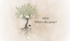 MIAC - what's the game?