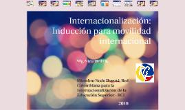 Inducción para movilidad internacional 2018