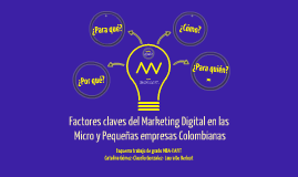 Marketing Digital en las Pymes Colombianas