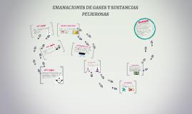 EMANACIONES DE GASES Y SUSTANCIAS PELIGROSAS
