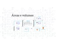 Áreas e Volumes