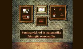 Seminarski rad iz matematike