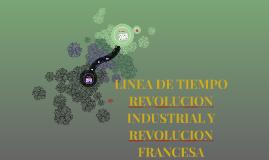 LINEA DE TIEMPO REVOLUCION INDUSTRIAL Y REVOLUCION FRANCESA