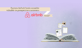Qualitative study Airbnb Hosts