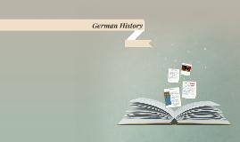 Copy of German History