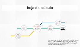 aplicaciones matemáticas con una hoja electrónica de calculo by Jose ...