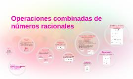 Copy of Operaciones combinadas de números racionales
