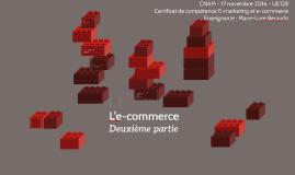 L'e-commerce deuxième partie