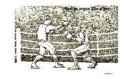 Copy of  How to Argue