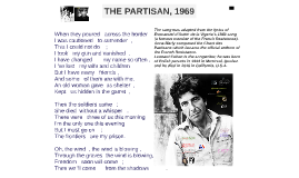 The Partisan by Leonard Cohen _ HdA