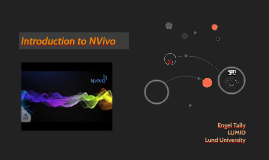 Introduction to NVivo11