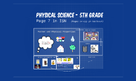 Physical Science - 5th Grade