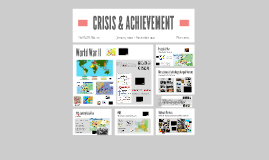 CRISIS & ACHIEVEMENT