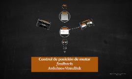 Copy of Control de posición de motor: