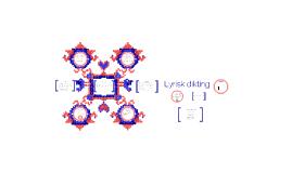 Copy of Lyrisk dikting